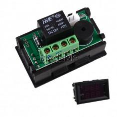 termostat digital DC 12V -50-110°C cu senzor de temperatura