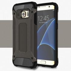 Husa Samsung Galaxy S7 Edge - Hybrid Armour Black, Gel TPU