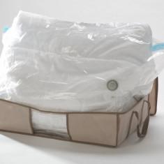 Husa cu sac vidare 67x48x15-taupe - Geanta skiuri