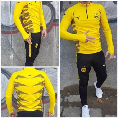 Trening Borussia Dortmund pantalon conic noul model 2018 foto