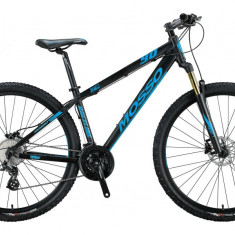"Bicicleta MTB Mosso Raceline , Roata 29"" , Altus 24 , Cadru 20 , Culoare Negru/APB Cod:M01MSO2930420002"