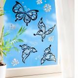 Decoratiune pentru geam Fluturi