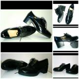 Încălțăminte dama - Pantof dama, Culoare: Negru, Marime: 40, Cu toc