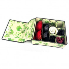 Cutie textila cu capac organizat sertare‐Colleen - Accesoriu ATV