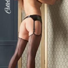 Net Stockings Dres Plasa S-L, Negru
