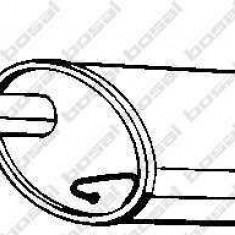 Toba esapament finala Hyundai Getz motor 1, 1 BOSAL 28730-1C630