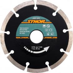 Disc diamantat segmentat H7 125x2 mm STHOR
