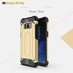 Husa Samsung Galaxy S8 Plus - Hybrid Armor Gold, Gel TPU