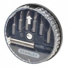 Set 6 varfuri de insurubat si adaptor magnetic 1-68-738 STANLEY - Set Darts
