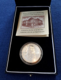 Moneda 5 lei 2006 BNR - argint - biserica de la Densus - proof