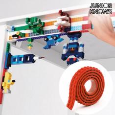 Bandă Adezivă Roșie pentru Construcții Magic Junior Knows
