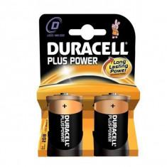 Baterii Alcaline DURACELL Plus Power DURLR20PB2 LR20 D 1.5V (2 pcs)