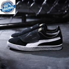Adidasi Puma Suede Wrap Leather Originali 100% nr 42 - Adidasi barbati, Marime: 43, Culoare: Din imagine
