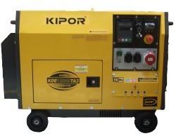 Generator insonorizat Kipor KDE 12000 TA3 foto mare