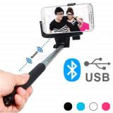 Monopod pentru Selfie-uri prin Bluetooth
