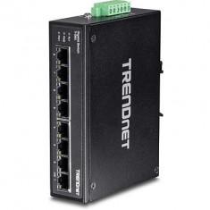 TD 8-PORT GIGABIT DIN-RAIL SWITCH TI-G80 - Router wireless Trendnet