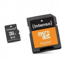 Card de Memorie Micro SD cu Adaptor INTENSO 3413460 8 GB Clasa 10 - Card memorie