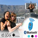 Monopod pentru Selfie-uri cu Telecomanda prin Bluetooth