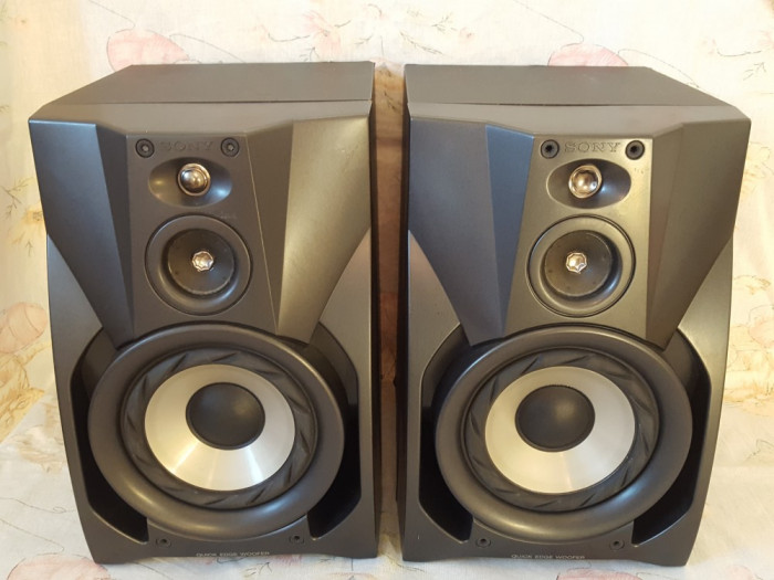 Boxe SONY-model rar-super bass-mult peste Technics,Jvc,Pioneer,Philips