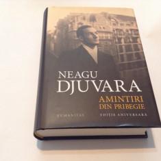 Amintiri din pribegie - Neagu Djuvara-rf12/3 - Biografie