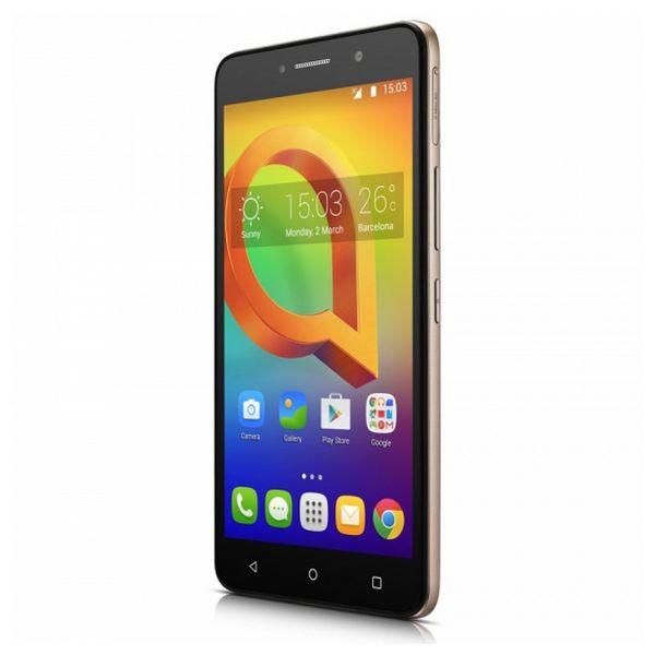 """Smartphone Alcatel A2XL 6"""" IPS LCD Quad Core 1.30 GHz 8 GB 1 GB RAM 3G 2580 mAh Aur"""