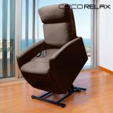 Fotoliu Relax cu Funcție de Ridicare și de Masaj Cecorelax Compact 6008
