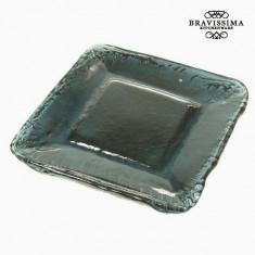 Farfurie Decorativă Sticlă reciclată - Crystal Colours Deco Colectare by Bravissima Kitchen