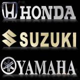 Sticker mic honda-suzuki-yamaha, Blade