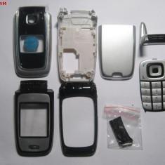 Carcasa Nokia 6101 Gri/Negru Completa