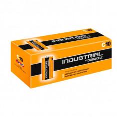 Baterii Alcaline DURACELL Industrial DURINDLR14C10 LR14 C 1.5V 7.75 Ah|(10 pcs)