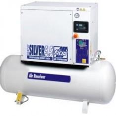 Compresor cu surub+ uscator NEW SILVER D 15/500 10 BAR FIAC