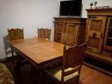 Masa si sase scaune pentru living