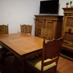 Masa si sase scaune pentru living - Masa living