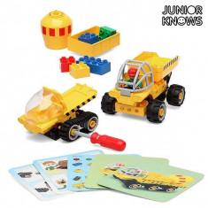 Set de Construcție Junior Knows 1280 (38 pcs) - Saboti frana Moto