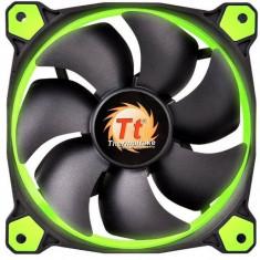 Kit ventilatoarea Thermaltake Riing 12 High Static Pressure, 120 mm, 3 ventilatoare incluse, LED Verde - Cooler PC