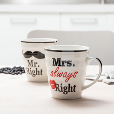 Ceşti Mr. Right & Mrs. Always Right - Aspirator vertical