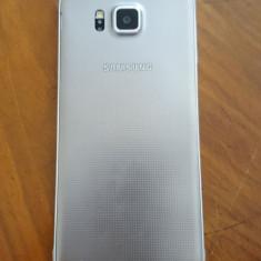 Samsung Galaxy Alpha Argintiu - Telefon mobil Samsung Galaxy Alpha, Neblocat, Octa core