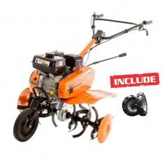 Motosapa Dac 6500K + roti cauciuc - Motocultor Ruris