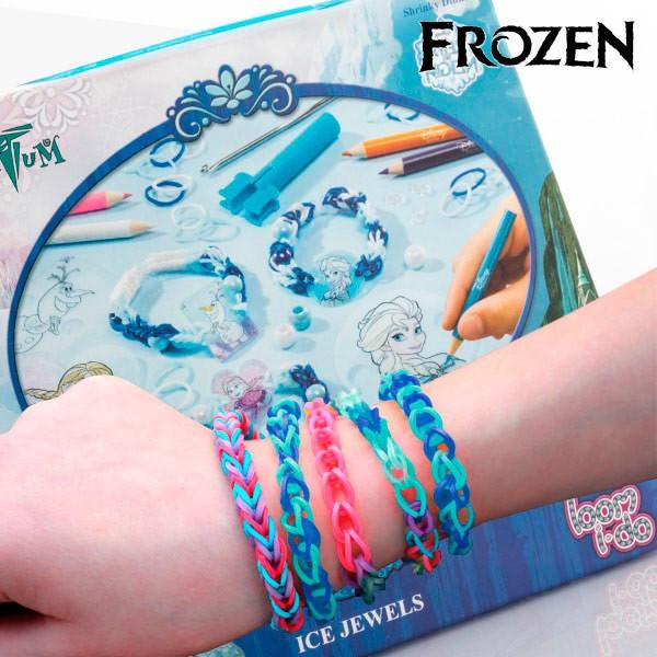Benzi din Cauciuc de Făcut Brățări cu Mărgele Frozen