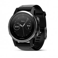Smartwatch GARMIN FENIX 5S GPS 10 ATM Argintiu Negru
