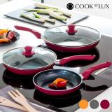 Tigăi Ceramice Cook D'Lux (5 piese)