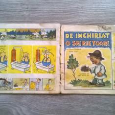 REVISTA ARICI POGONICI NR.3/1957 SI NR.1/1958 - Reviste benzi desenate