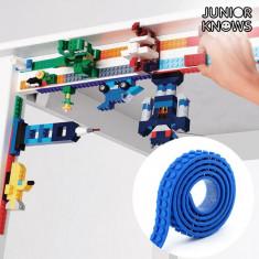 Bandă Adezivă Albastră pentru Construcții Magic Junior Knows