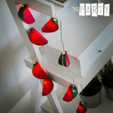 Ghirlandă LED Pepeni Verzi Th3 Party (10 LED-uri)