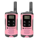 Walkie-Talkie Motorola TLKR T41 4 km LCD 16 h AAA Roz
