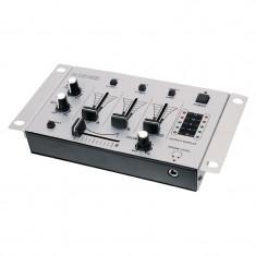 Mixer audio pentru DJ Konig, 3 canale, functie talkover