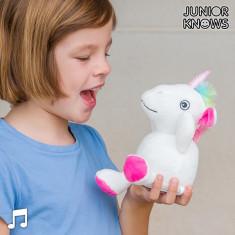 Unicorn de Pluș cu Aparat de Înregistrat și Reproducător de Voce Junior Knows - Fluturas Darts