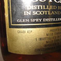 RARE whisky SpeyRoyal, fine old scotch whisky cl 75 gr 43 ani 50/60