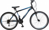 "Bicicleta MTB Umit Kronos V , Culoare Negru/Albastru Roata 24""PB Cod:24471000002, 21"