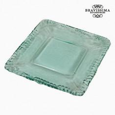 Farfurie Decorativă Sticlă reciclată - Pure Crystal Deco Colectare by Bravissima Kitchen